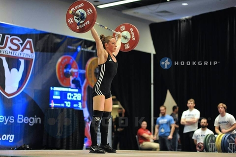 Shannon competes at the American Open in 2014