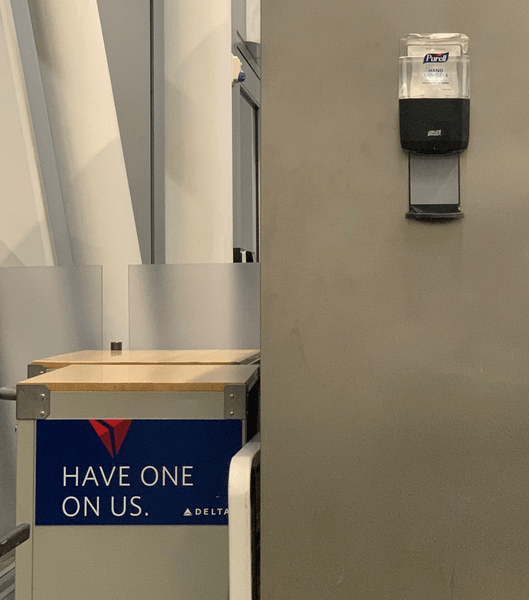 Airport Hand Sanitizer