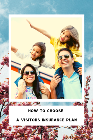 choose the best visitor insurance - pinterest