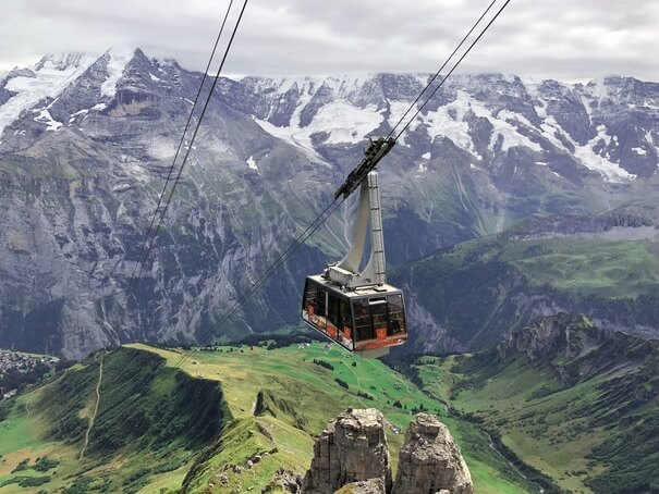 Switzerland Cable Car