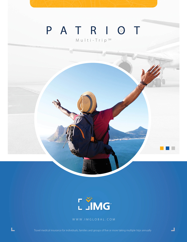 Patriot Multi-Trip Travel Medical Insurance