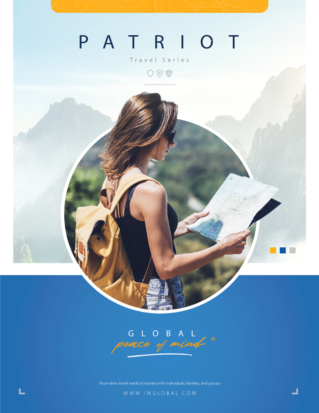 Patriot Travel Medical Insurance - Folleto y Solicitud